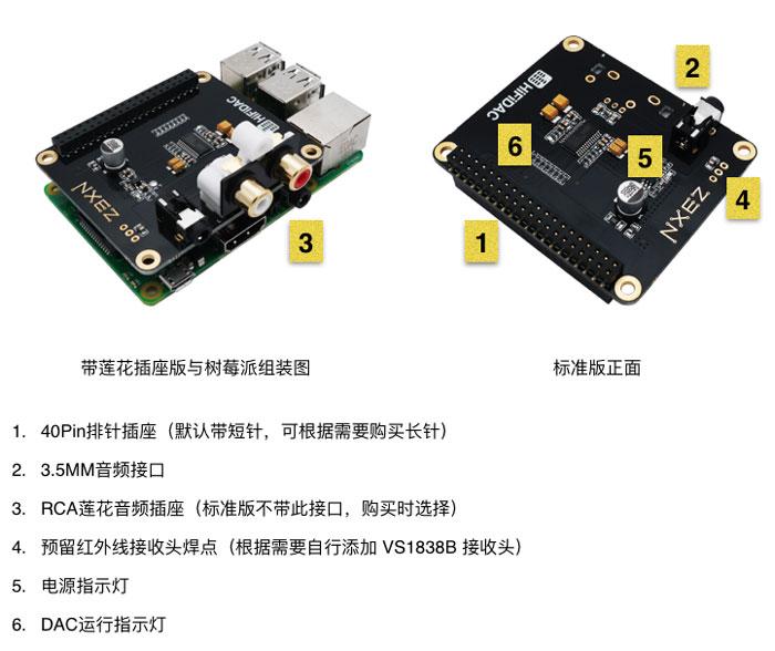 原创树莓派首款支持DSD的AOIDE DAC II HIFI声卡发布