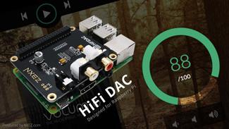 树莓派 HiFi DAC 扩展板