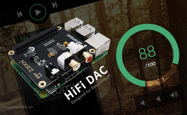 HiFi DAC 擴展板
